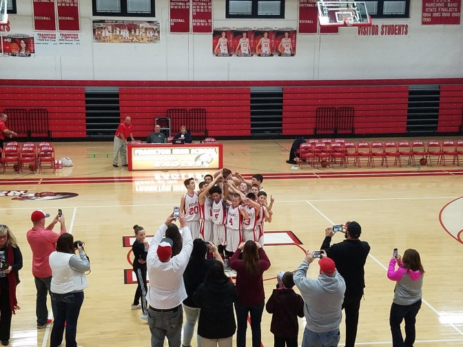 Boys Basketball Shines in the CIC