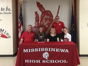Kayla Webb IWU Signing