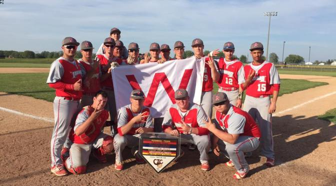Baseball Wins CIC Co-Championship