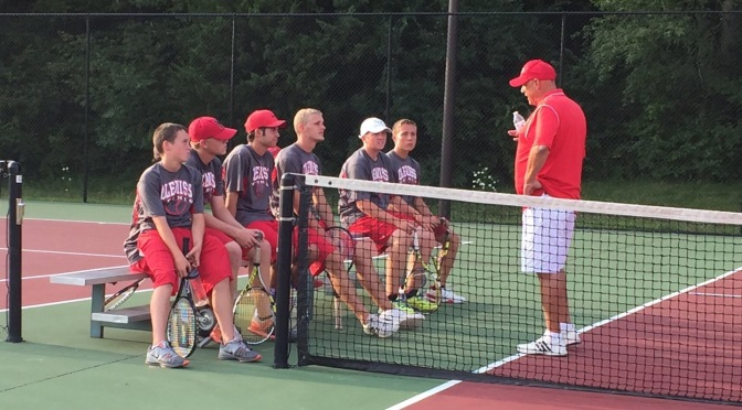Boys Tennis Opens with Win
