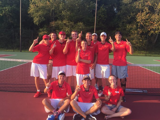 Boys Tennis Repeat CIC Champs