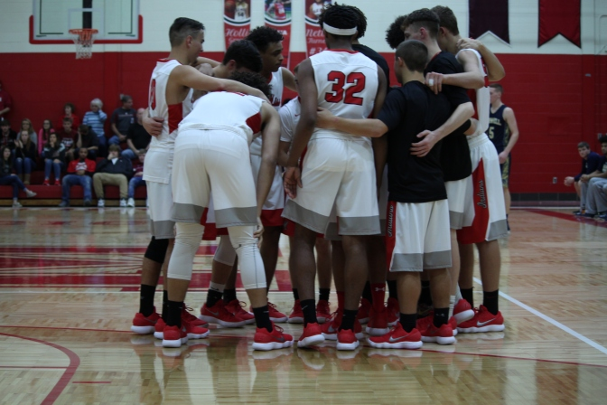 Indians Basketball posts 5 wins on the night.