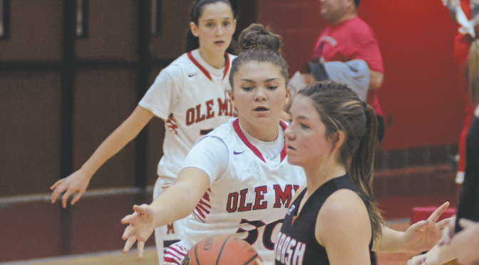 Lady Indians Drop Home Opener