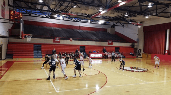 RJB 8th Grade Nets Two Wins