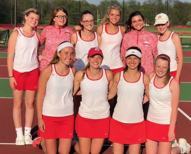 Girls Tennis CIC Title, Conference Track at Oak Hill, and Boys Golf Wins