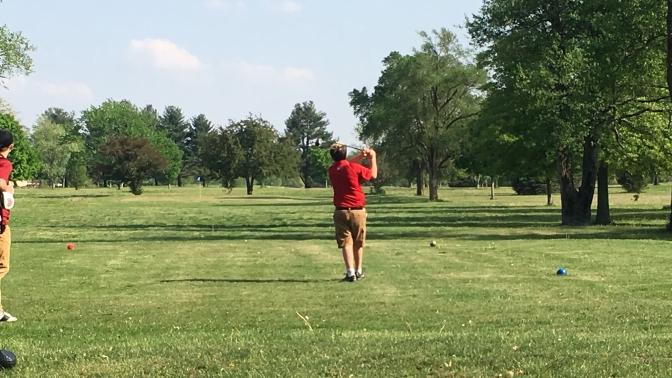 Boys Golf defeat Alex, JV Lady Indians shrink the Giants
