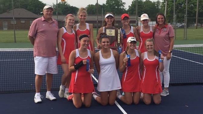 Girls Tennis Sectional Champs, Boys Track Results, Softball downs Eastern