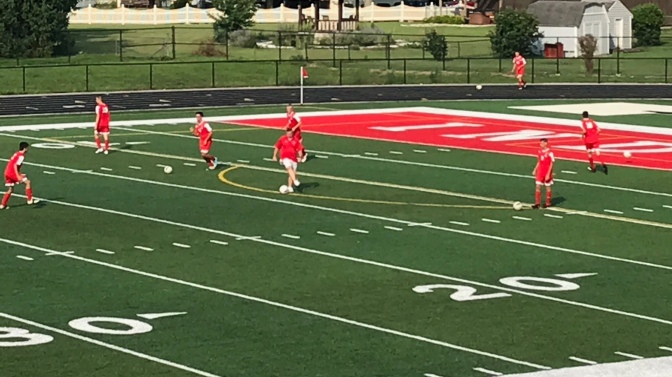 Boys Soccer Opens with Win