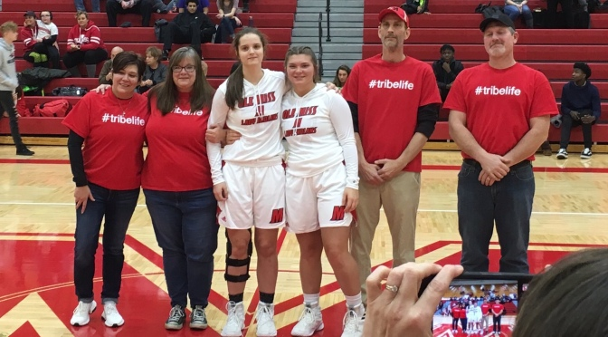 Lady Indians Struggle on Senior Night