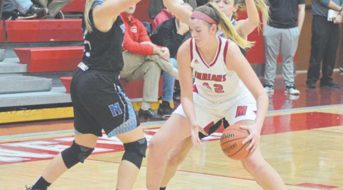 Girls Hoops Struggles against Norse