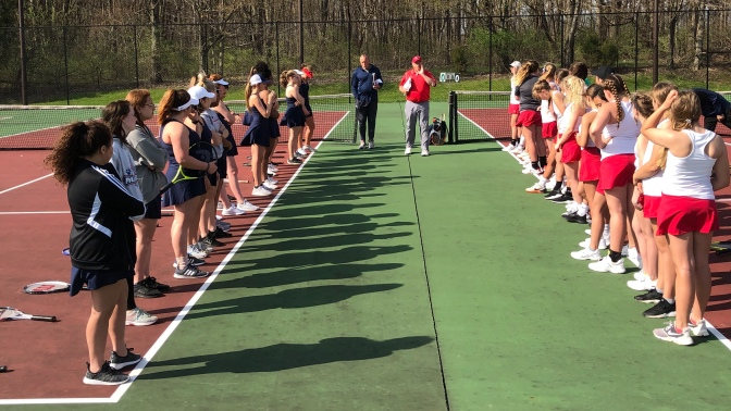Girls Tennis Tops the Panthers