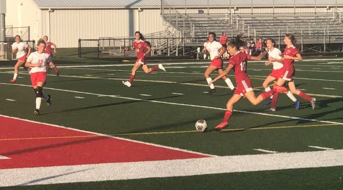 Soccer Sweeps Raiders