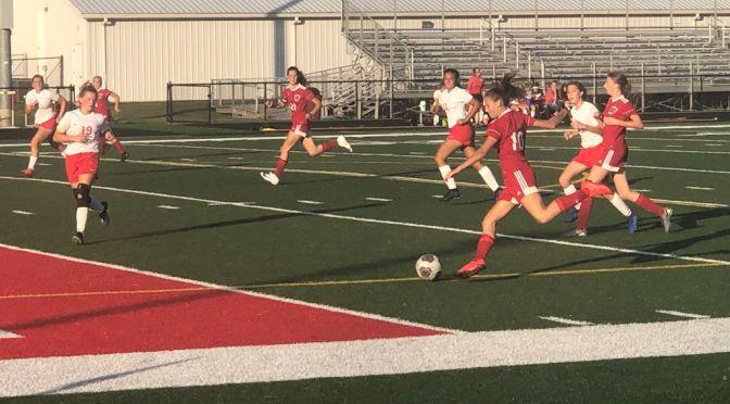 Soccer Sweeps Raiders