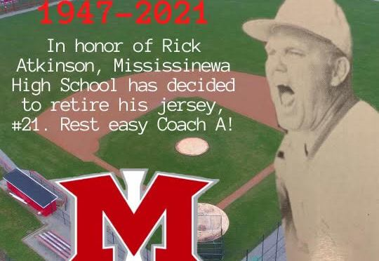 Indians Baseball to retire Coach Atkinson's Jersey #21