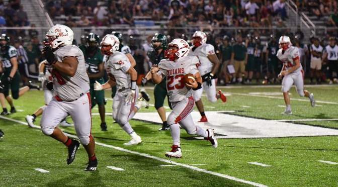 Indians Fall Late To Pendleton Heights